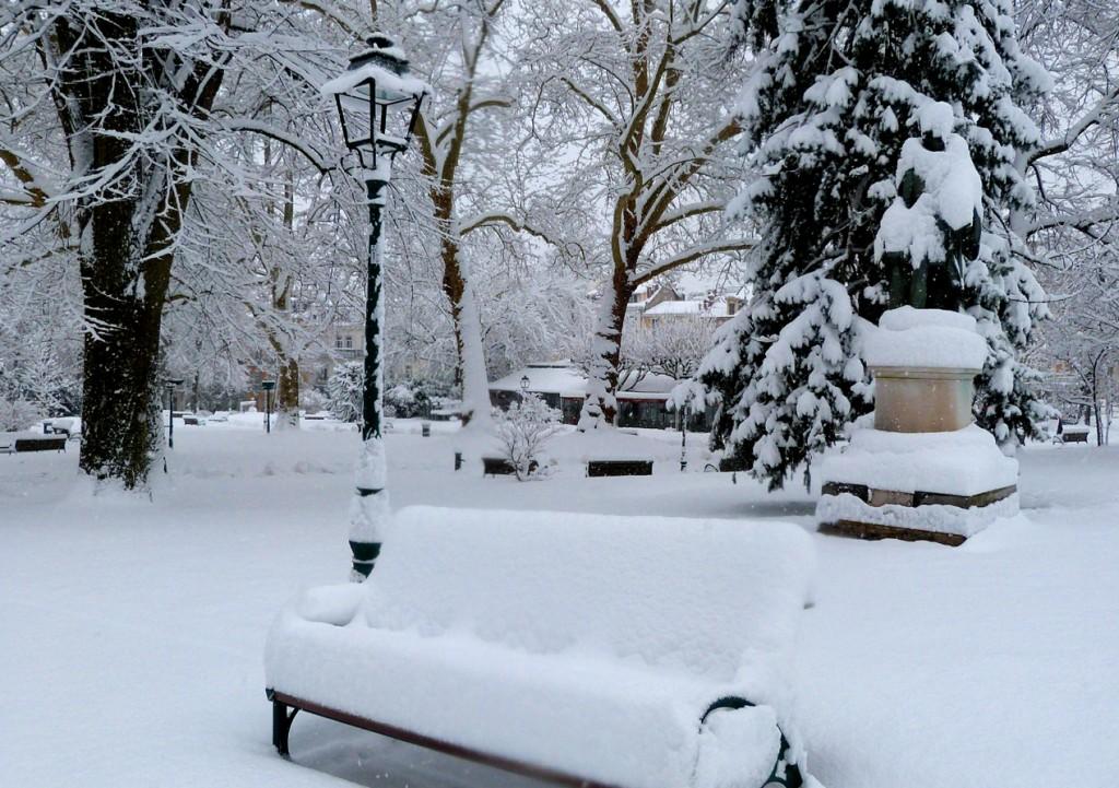 Neige Aix-les-Bains